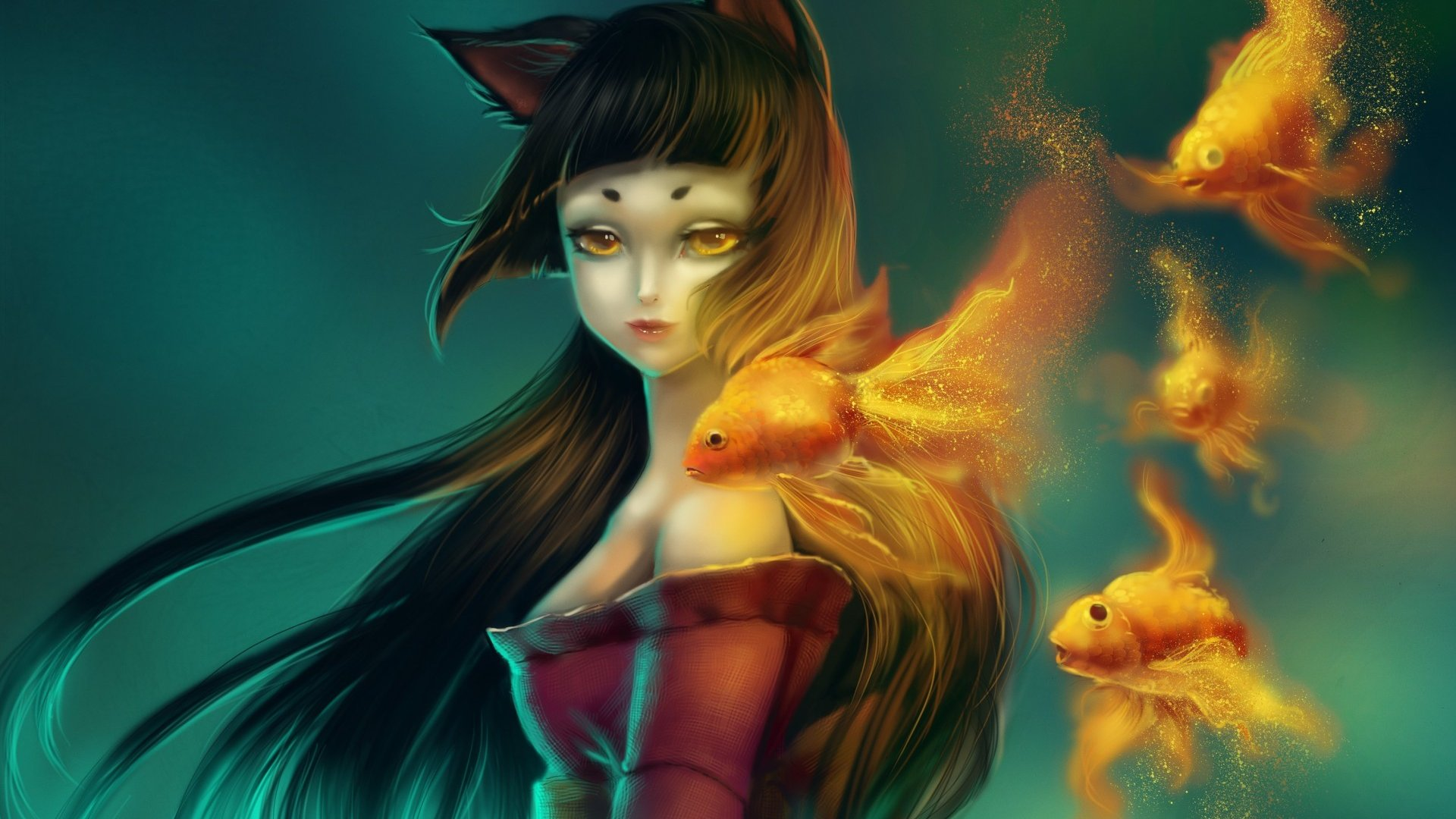 fantasy-elf-gold-fish-blur-background-underwater-1920x1080
