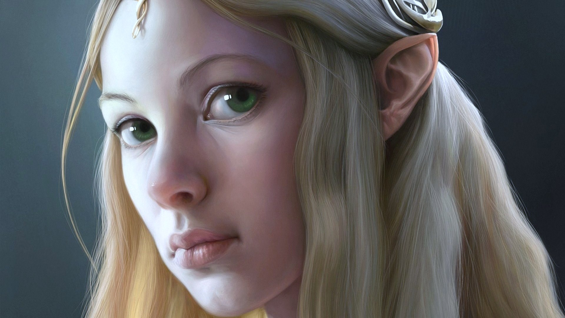 fantasy-elf-green-eyes-beautiful-girl-blonde-face-female-1920x1080