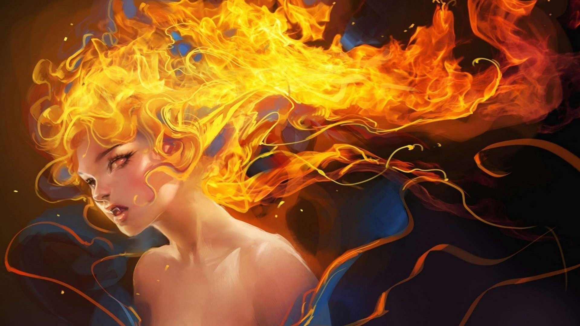 fantasy-girl-fire-long-hair-boobs-beautiful-yellow-torture-1920x1080