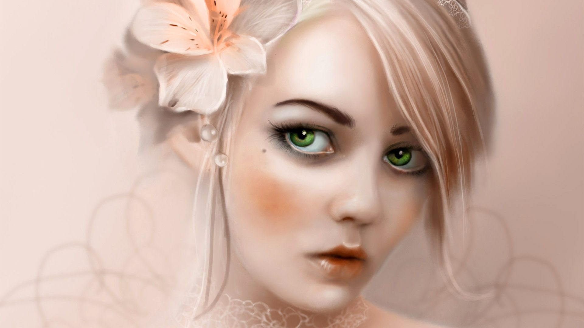 girl-blonde-eyes-flower-1920x1080