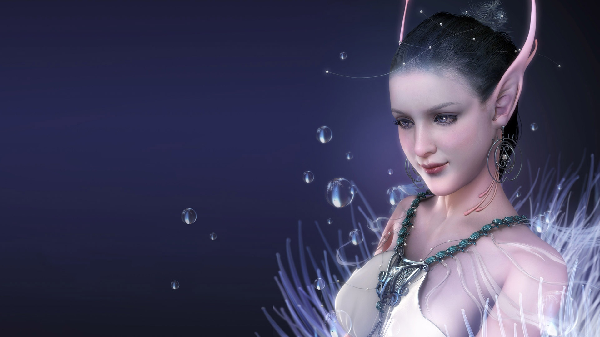 girl-elf-ears-water-dark-blue-1920x1080
