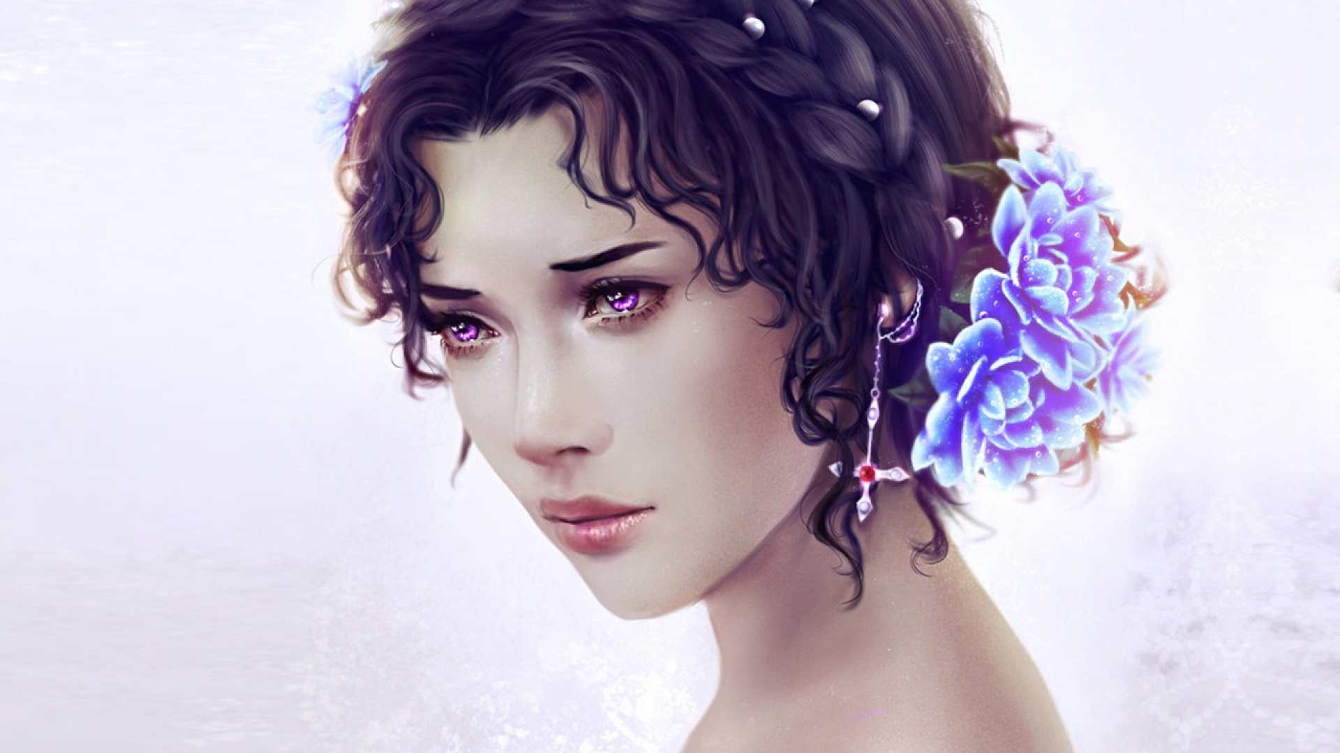 girl-eyes-grief-hairdress-flowers-1920x1080