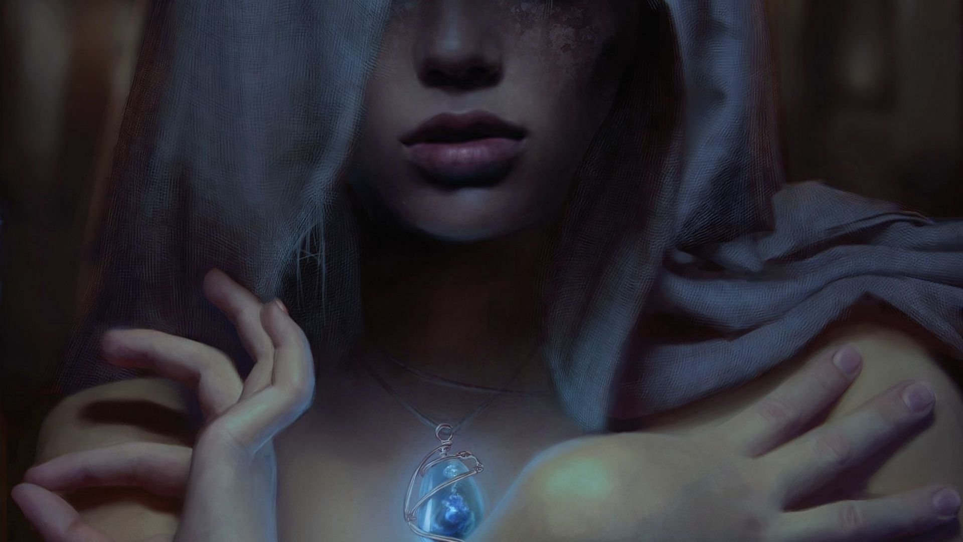 girl-person-amulet-magic-hands-hood-1920x1080