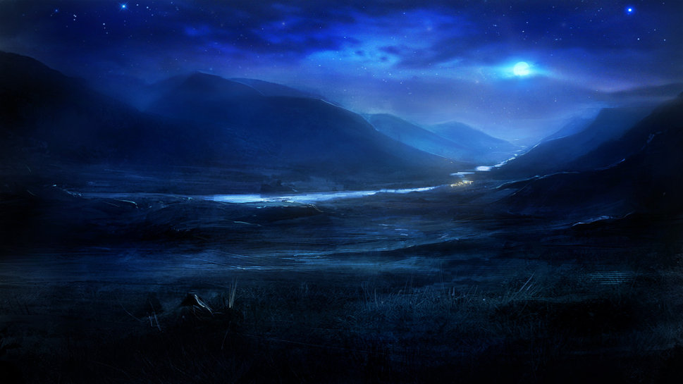 132099__art-night-nature-the-hills-the-river-the-moon-the-stars_p