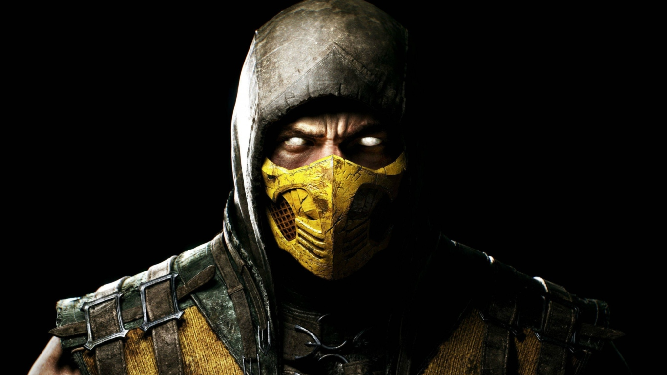 Scorpion-In-Mortal-Kombat-X-1366x768