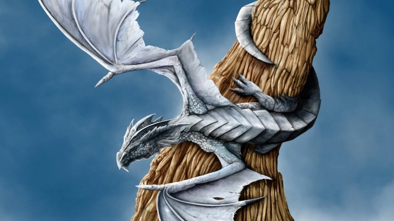 dragon blanco-wallpaper-alegorias.es (8)