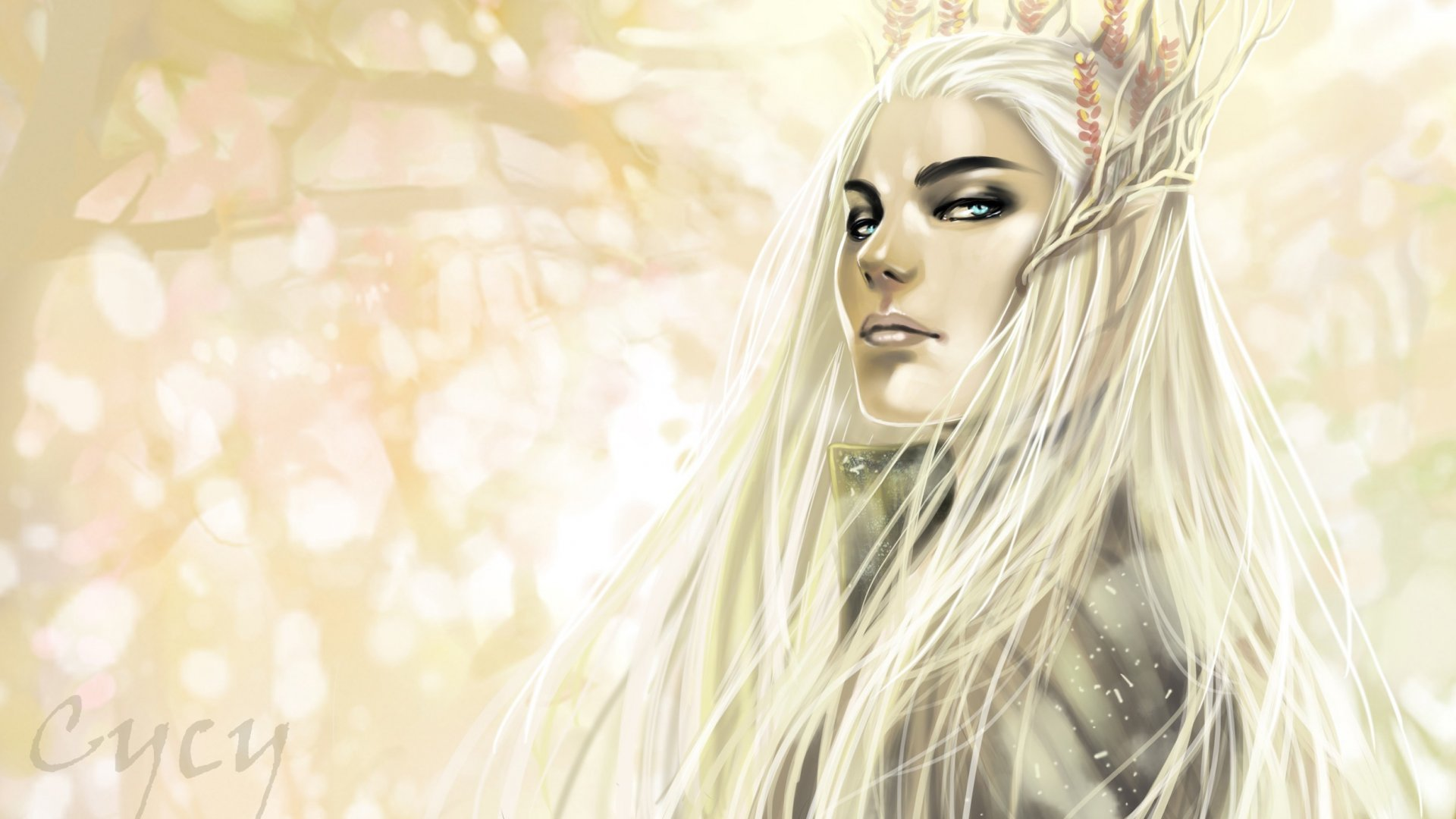 fantasy-elf-girl-long-hair-white-blue-eyes-1920x1080